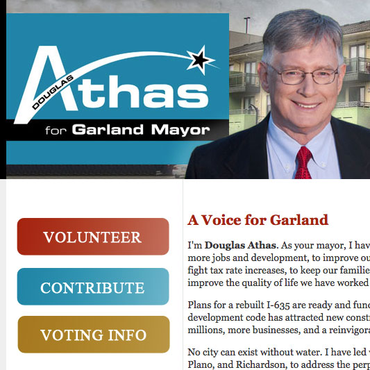 Douglas Athas for Garland Mayor