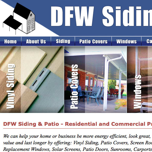 DFW Siding and Patio